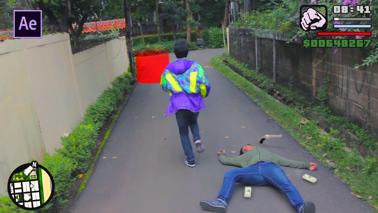 Tutorial After Effects GTA Real Life
